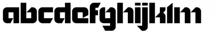 Nordic Pro Font LOWERCASE