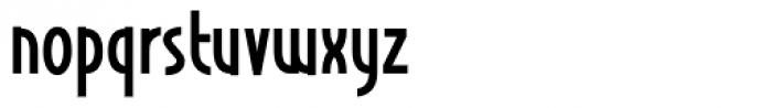 Nordika Font LOWERCASE