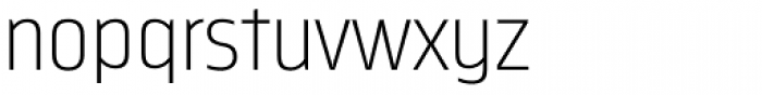 Nordikka Extra Light Font LOWERCASE