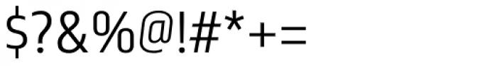 Nordikka Light Font OTHER CHARS