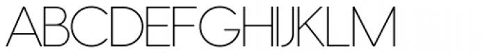 Nordique Pro Light Font UPPERCASE