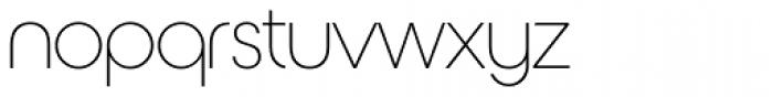 Nordique Pro Light Font LOWERCASE