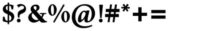 Nordling BQ Bold Font OTHER CHARS