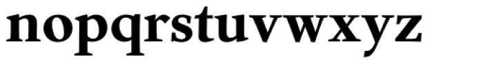 Nordling BQ Bold Font LOWERCASE