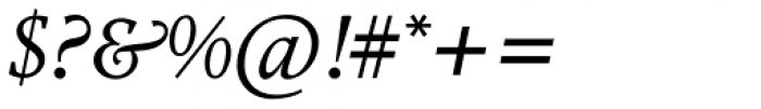 Nordling BQ Italic Font OTHER CHARS
