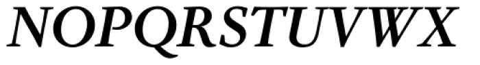 Nordling BQ Medium Italic Font UPPERCASE