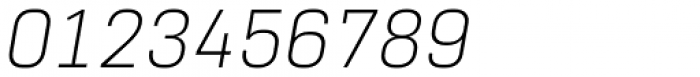 Normative Pro Light Italic Font OTHER CHARS