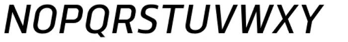 Norpeth DemiBold Italic Font UPPERCASE