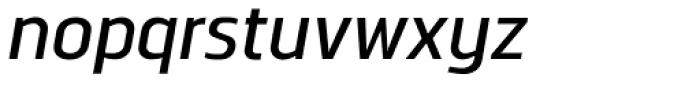 Norpeth DemiBold Italic Font LOWERCASE