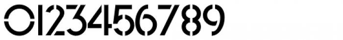 North End Stencil JNL Regular Font OTHER CHARS