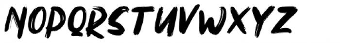 Northen Regular Font UPPERCASE