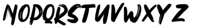 Northen Regular Font LOWERCASE