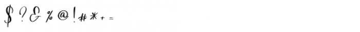 Northern Petal Regular Font OTHER CHARS