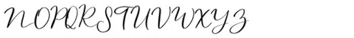 Northern Petal Regular Font UPPERCASE