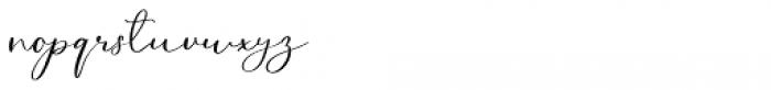 Northern Petal Regular Font LOWERCASE