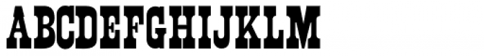 Northfork JNL Font UPPERCASE