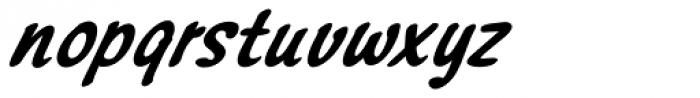 Northport Bold Italic Font LOWERCASE
