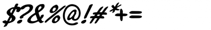 Northport Medium Italic Font OTHER CHARS