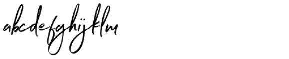 Northwell Clean Alt Font LOWERCASE