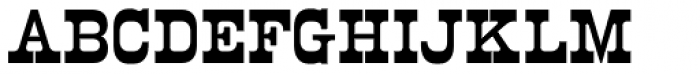 Norwich Cyrillic Font UPPERCASE