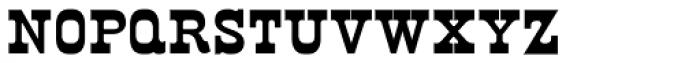 Norwich Cyrillic Font LOWERCASE