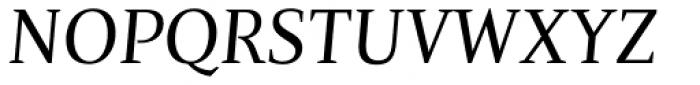 Nosta Italic Font UPPERCASE