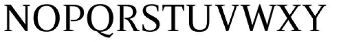 Nosta Regular Font UPPERCASE