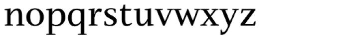 Nosta Regular Font LOWERCASE