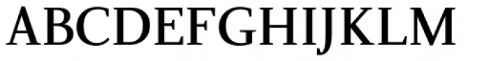 Nosta SemiBold Font UPPERCASE