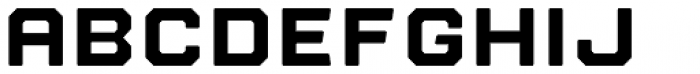 Nostromo Black Font LOWERCASE