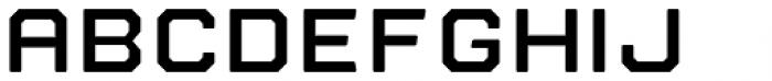 Nostromo Bold Font UPPERCASE
