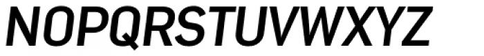 Nota Bold Oblique Font UPPERCASE