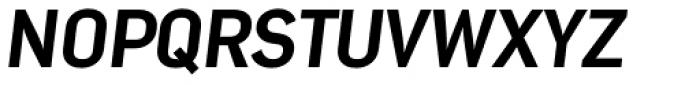 Nota Extra Bold Oblique Font UPPERCASE