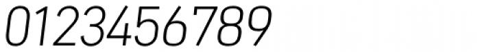 Nota Light Oblique Font OTHER CHARS