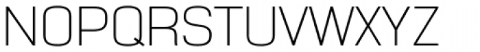 NotaBene Extra Light Font UPPERCASE