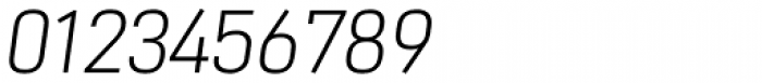 NotaBene Light Oblique Font OTHER CHARS