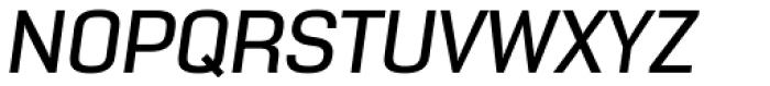 NotaBene Medium Oblique Font UPPERCASE