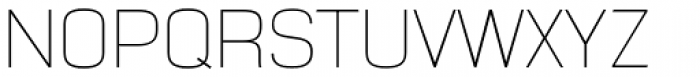 NotaBene Thin Font UPPERCASE