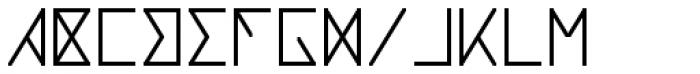 Notdef Blank Font UPPERCASE