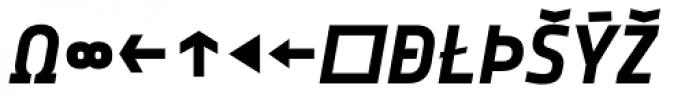 Notes Bold Italic Caps Expert Font UPPERCASE