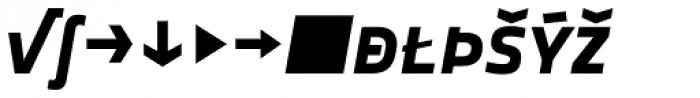 Notes Bold Italic Caps Expert Font LOWERCASE