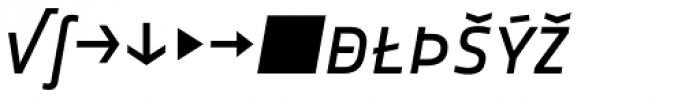 Notes Italic Caps Expert Font LOWERCASE