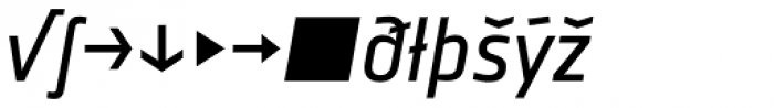 Notes Italic Expert Font LOWERCASE