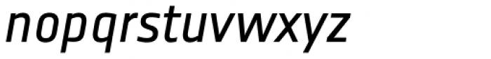 Notes Italic TF Font LOWERCASE