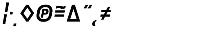 Notes Medium Italic Caps Expert Font OTHER CHARS
