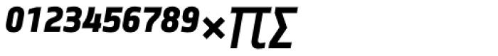 Notes Medium Italic Caps Expert Font UPPERCASE