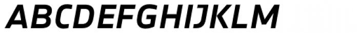 Notes Medium Italic Caps TF Font LOWERCASE