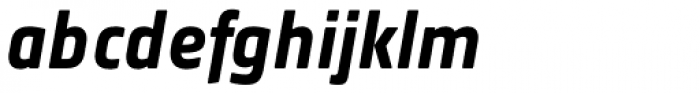 Notes Soft Bold Italic Font LOWERCASE