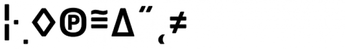 Notes Soft Medium Caps Expert Font OTHER CHARS