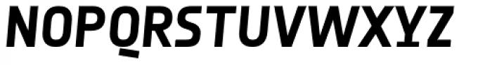 Notes Style Bold Italic TF Font UPPERCASE